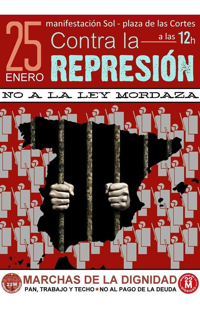Mani represión