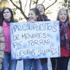 ARAGÓN: Los trabajadores de centros de acogida protestan ante las Cortes